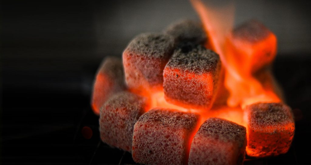 Coconut Shell Charcoal Briquettes from Indonesia